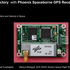 GPS Receiver allowing to reconstruct the Balloon Entry Trajectory