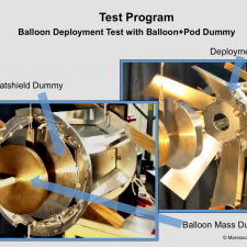 Test of the Balloon Deployment using Mass Dummies